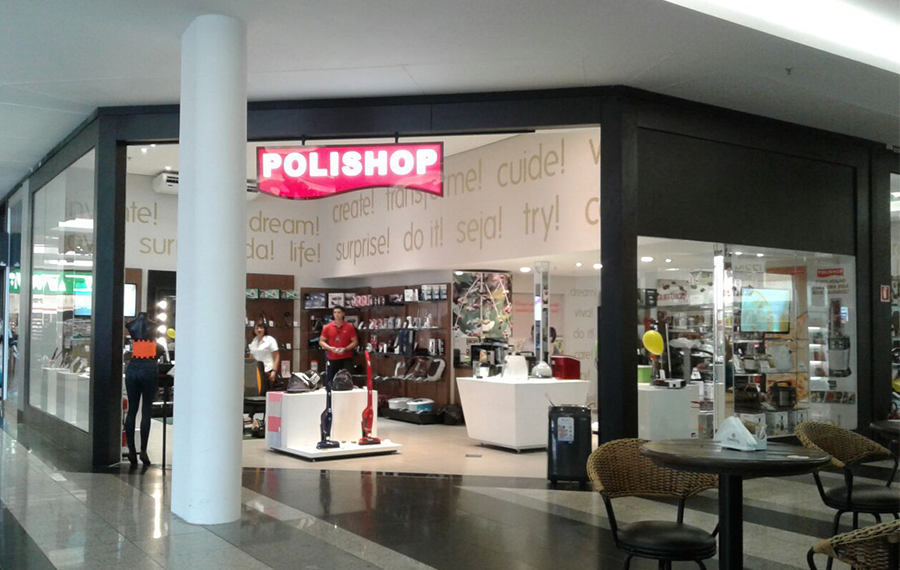 Polishop no Pátio Limeira Shopping