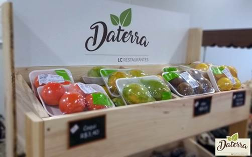 LC Restaurantes,  Daterra, Take Away